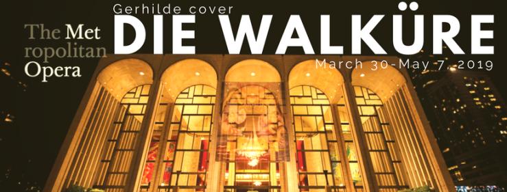 Cover Gerhilde in Die Walküre at the Met